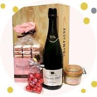 Idees cadeau au champagne
