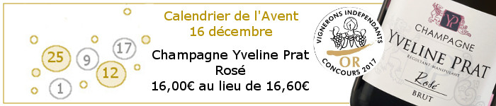 Jour 16 promotion champagne rose
