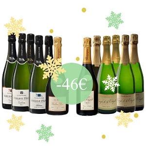 Calendrier de l'avent Champagne Yveline Prat