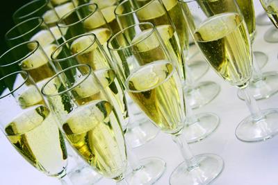 photo vin et champagne pour mariage