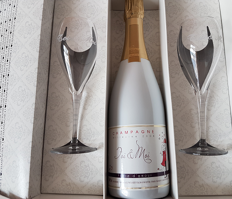 champagne a offrir